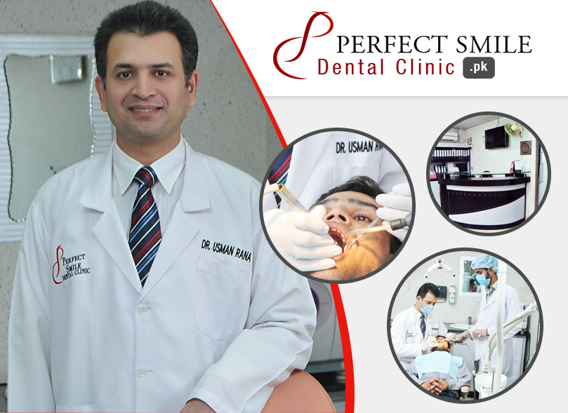 Perfect Smile Designed by Islamabad web design service